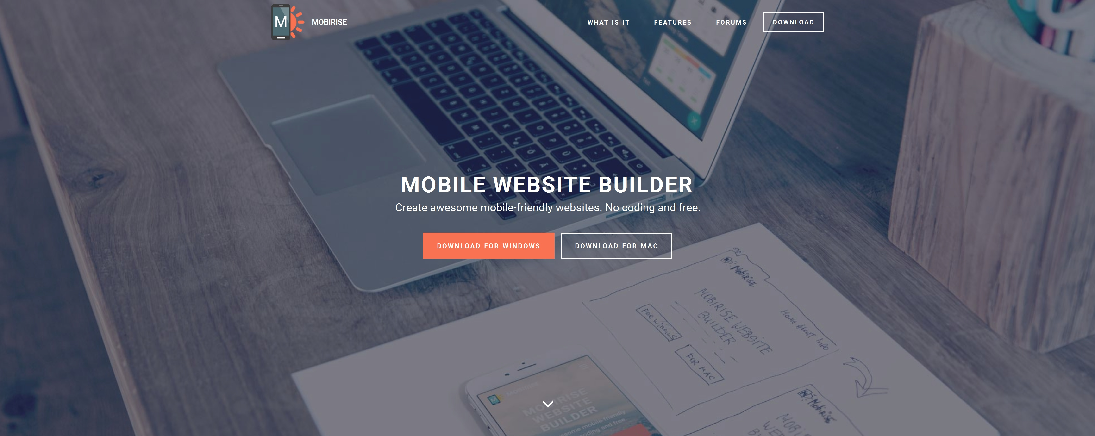 Drag and Drop Mobile Website Generator Software