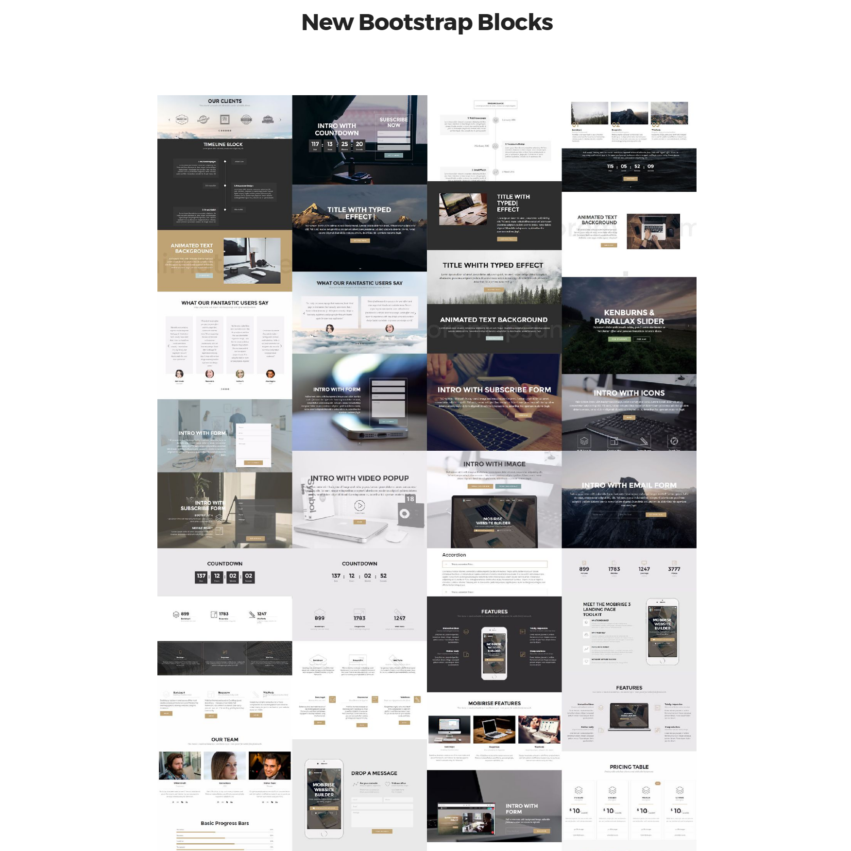 Free Download New Bootstrap Themes