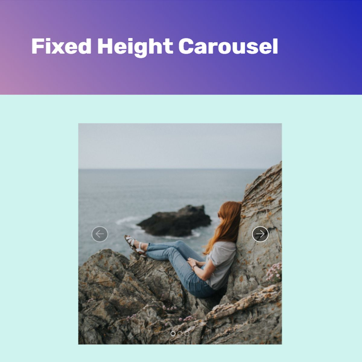 Responsive Bootstrap Picture Slider