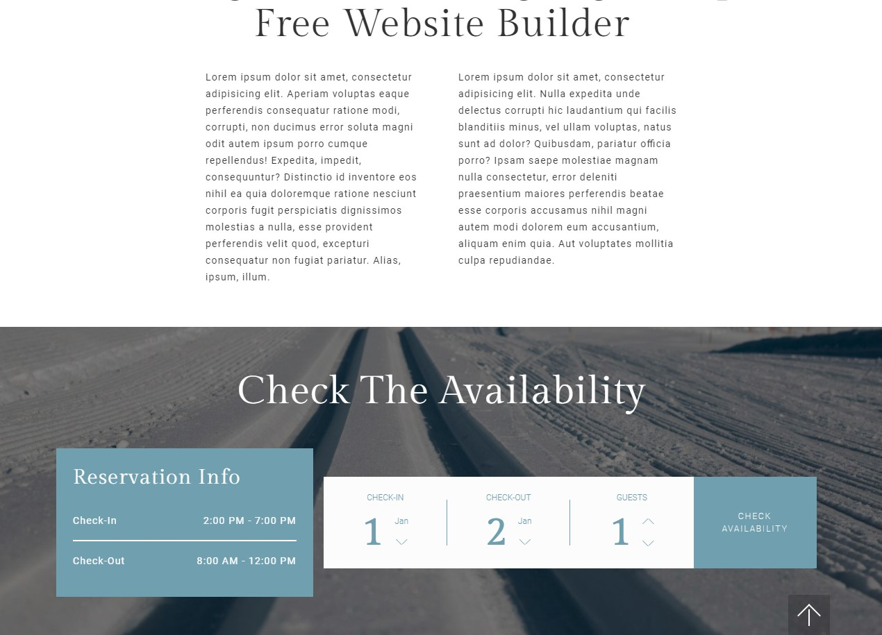 Mobile-responsive Website